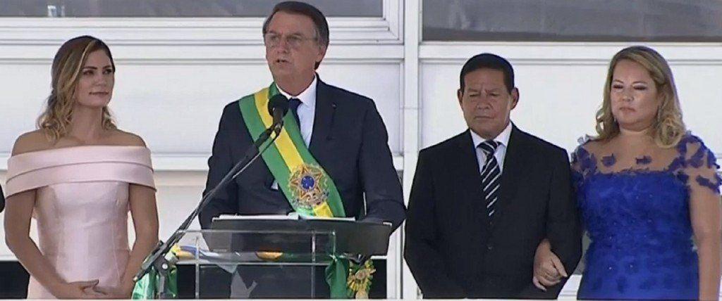 Asumió Bolsonaro y prometió liberar a Brasil de la corrupción, la criminalidad y la ideología de género