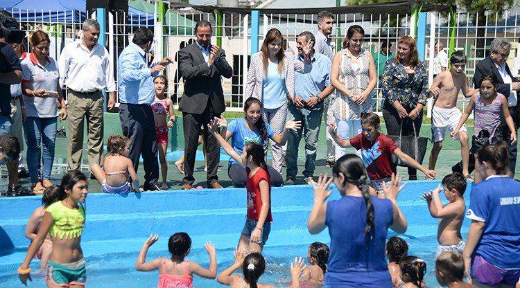 En Banda del Río Salí, las familias ya disfrutan de su colonia de vacaciones