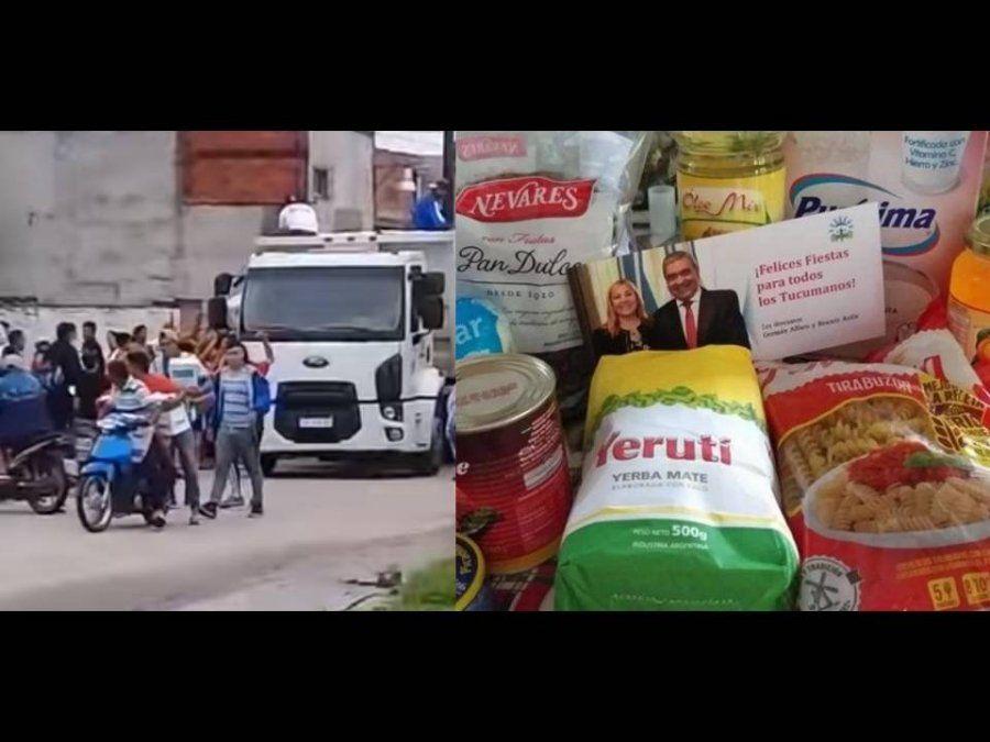 Yedlín pide explicaciones por las cajas navideñas que repartieron en nombre del intendente Alfaro