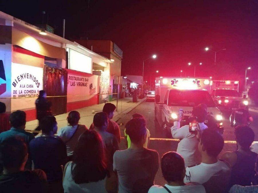 Siete muertos tras una balacera en Playa del Carmen