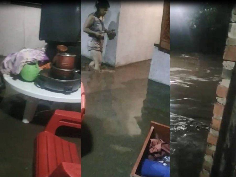 Fueron cinco las localidades afectadas por la lluvia, sobre todas, Finca Mayo