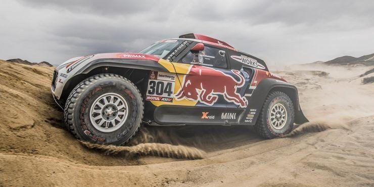 Peterhansel se impuso en autos en  la tercera etapa del Dakar 2019
