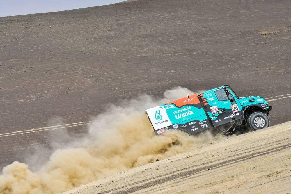 Villagra llegó segundo y está cerca de la punta en la categoría camiones