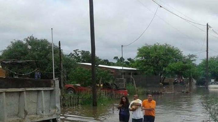 Santiago del Estero: Por el temporal, cayeron 265 mm en 24 horas