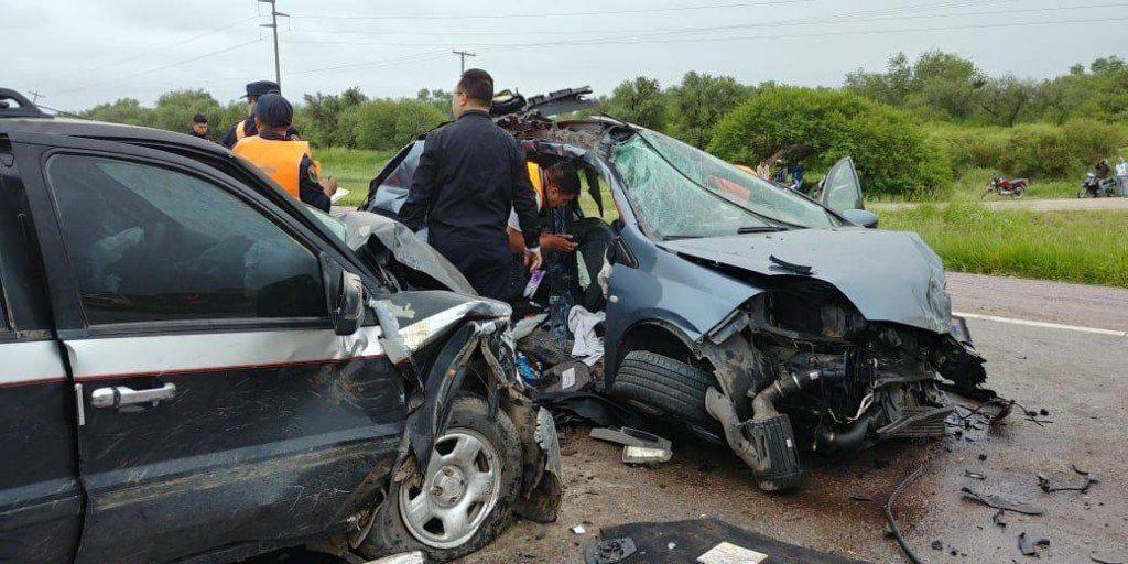 Una joven tucumana falleció en un choque frontal sobre la ruta 34