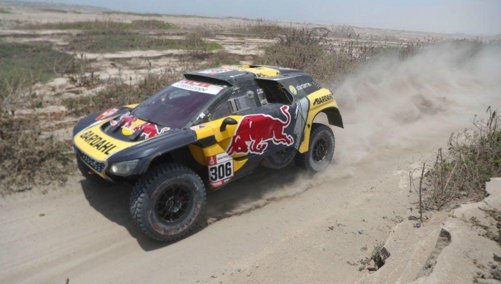 Sébastien Loeb se adjudicó la quinta etapa en autos