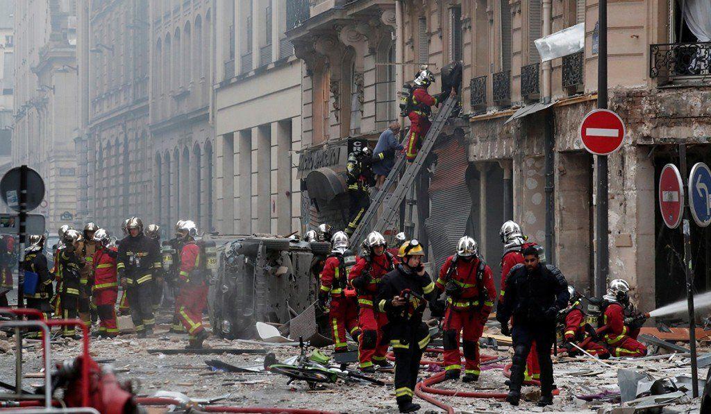 Explosión en Paris deja al menos dos muertos