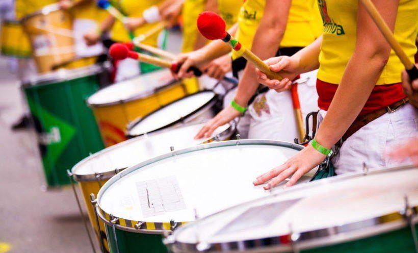 Se abre una oportunidad para aprender a tocar batucada en Tafí Viejo