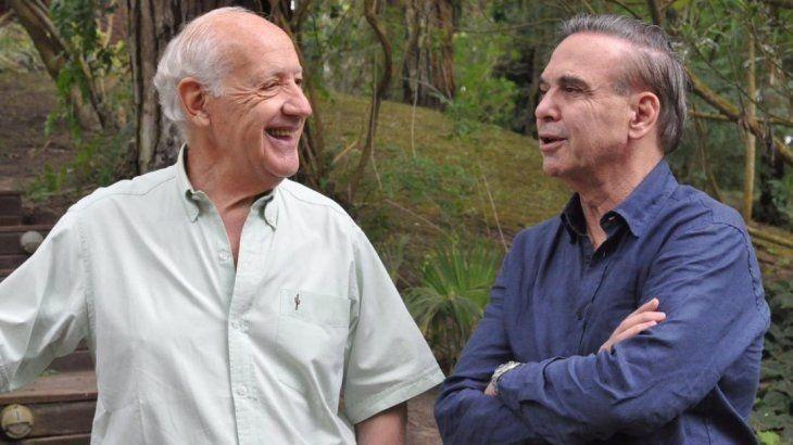 Roberto Lavagna y Miguel Ángel Pichetto se reunieron en la ciudad de Cariló