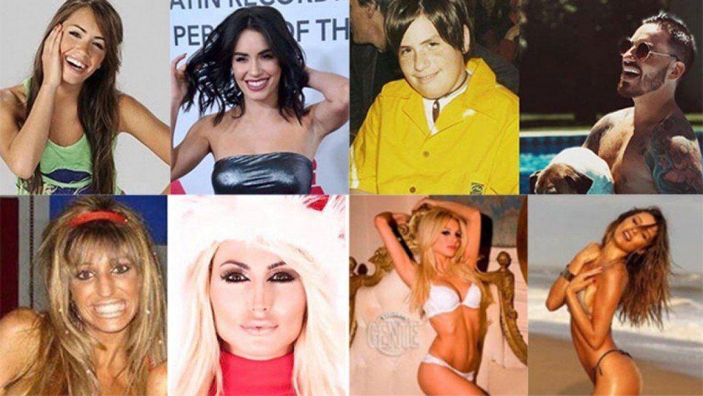 Los famosos también se sumaron al #TenYearsChallenge