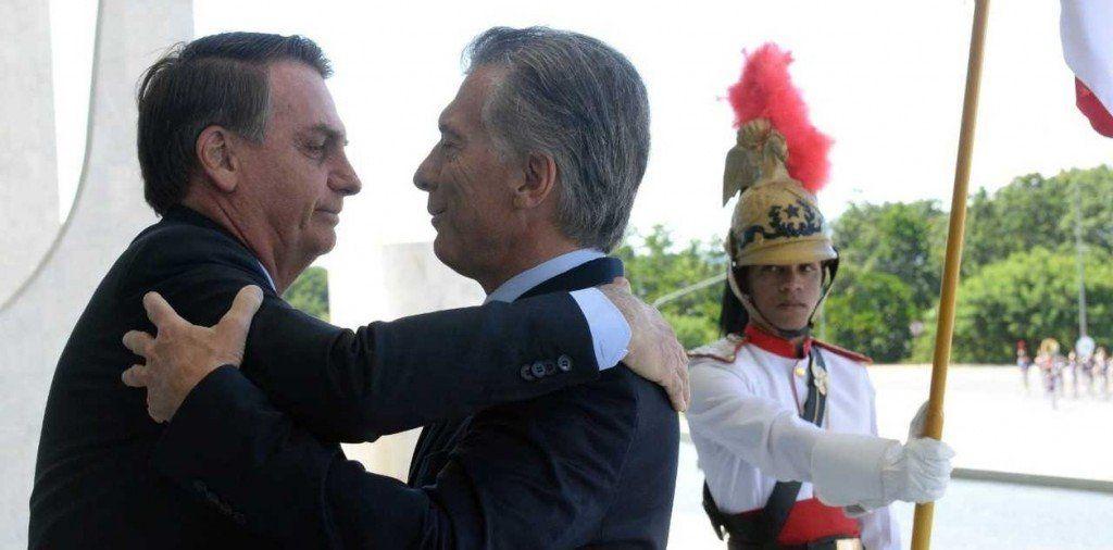 Macri y Bolsonaro reconstruyen la relación bilateral y ratifican su rechazo a la «dictadura de Maduro»