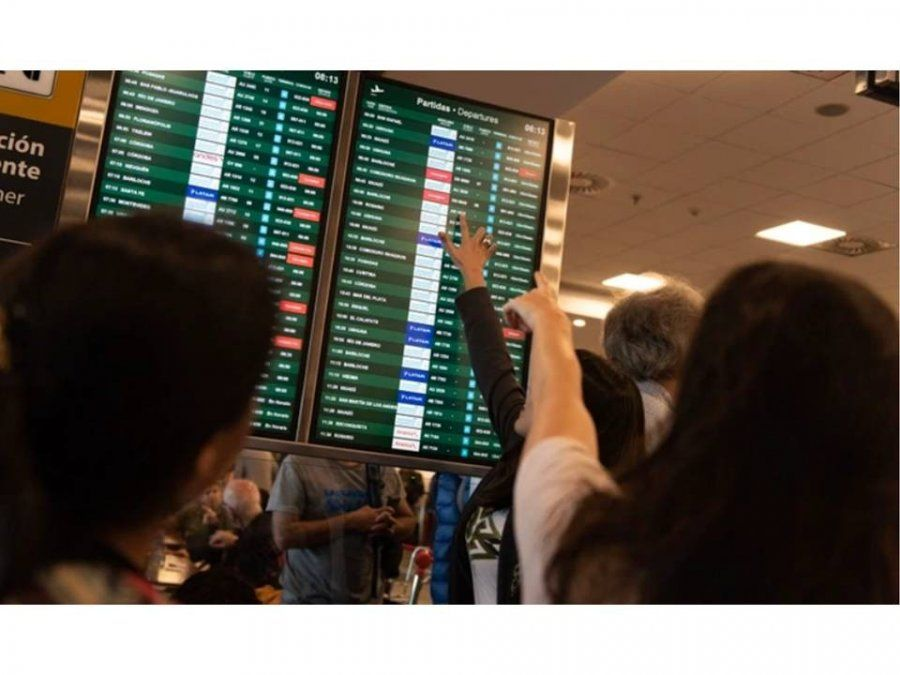 Levantaron las medidas de fuerza y, lentamente, se restablece la actividad en los aeropuertos
