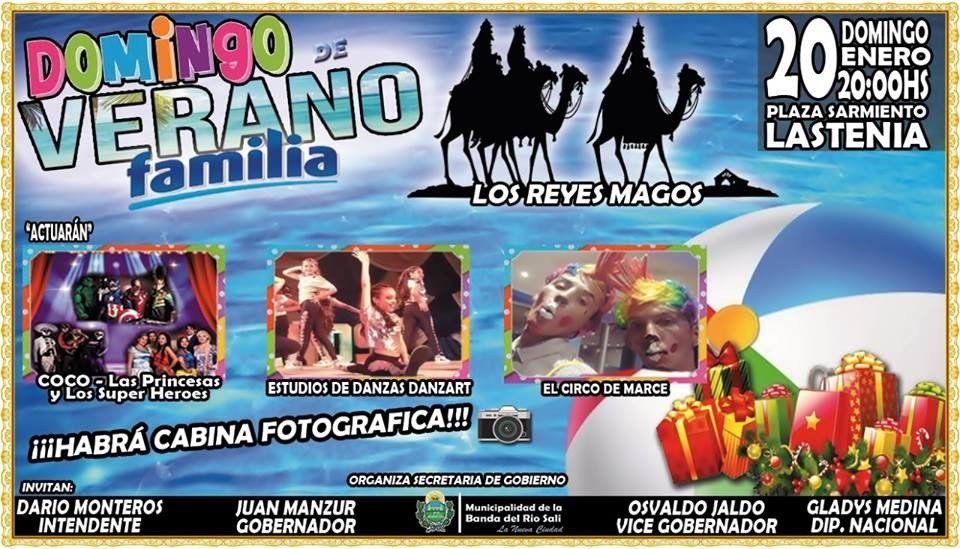 """Si te quedas en estas vacaciones no te vas a aburrir: Banda del Rio Salí presenta  """"Domingos en familia"""""""