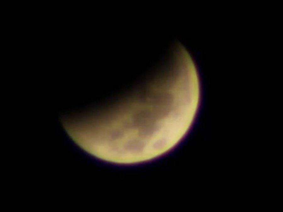 Fue el primer acontecimiento astronómico del año. Cómo se vio desde Ampimpa