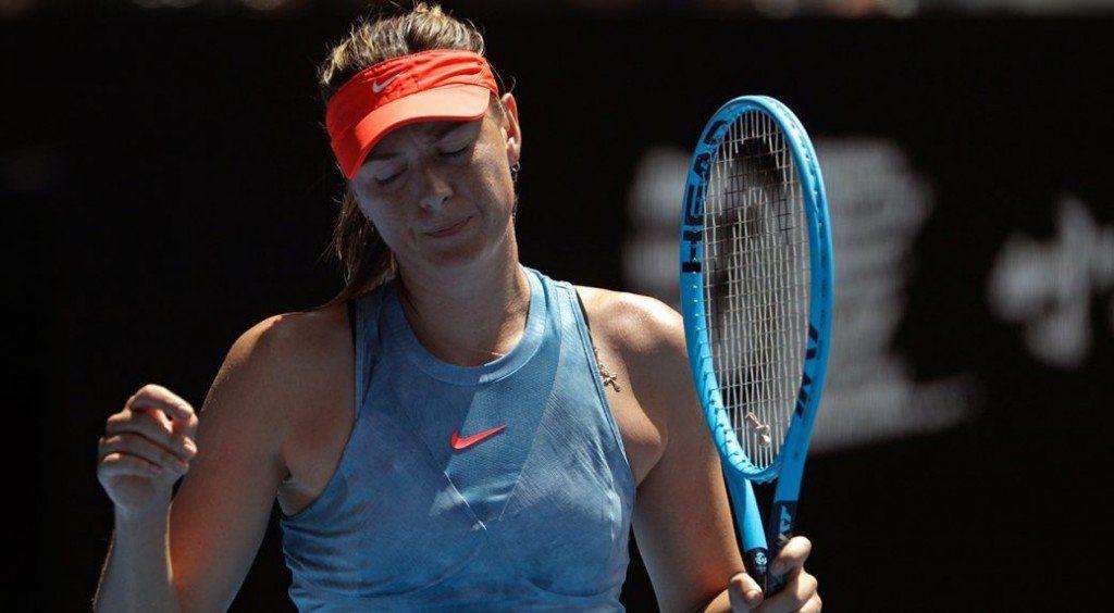 ¿Por qué se demoró tanto? Sharapova fue criticada por dejar el juego para ir al baño