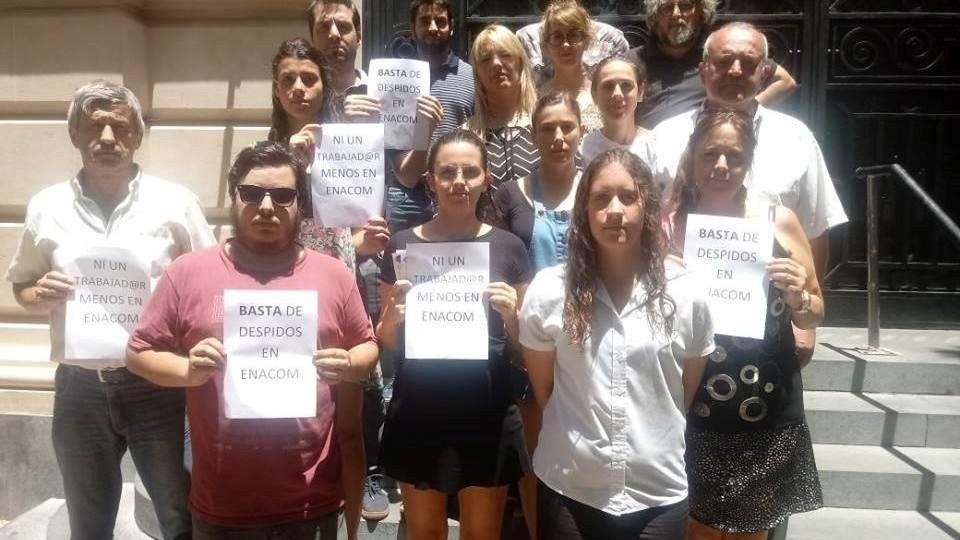 Despiden a trabajadores de todo el País del Ente Nacional de Comunicaciones