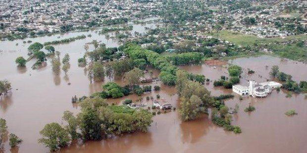 Declararán la emergencia hídrica en zonas afectadas por las inundaciones