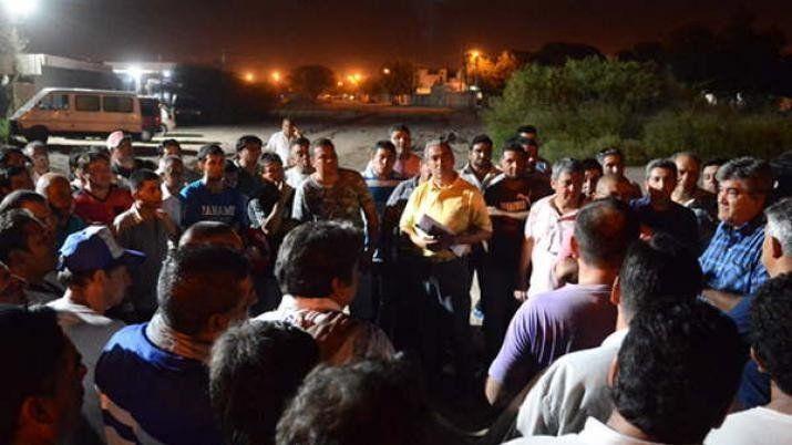 Santiago: Trabajadores de la empresa de transporte ERSA llevan tres días de paro por falta de pago