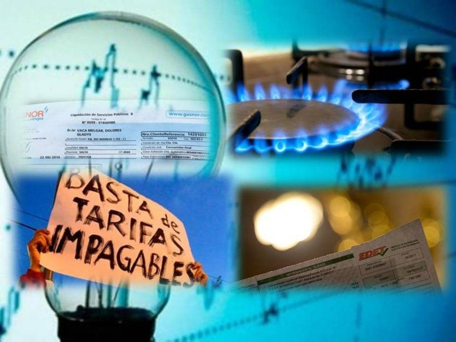 Pagar las boletas de luz y gas representan el 80% del salario de los trabajadores