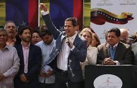 El apoyo internacional para que asuma como presidente Juan Guaidó