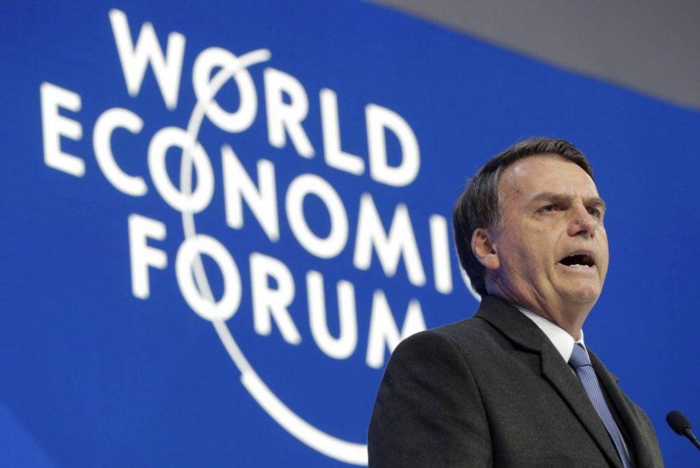 Bolsonaro habló de las supuestas irregularidades financieras de su hijo