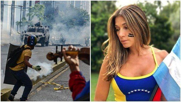 Catherine Fulop utilizo las redes para manifestarse en contra del gobierno de Maduro
