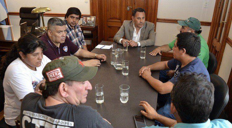 Amado se reunió con referentes de organizaciones sociales