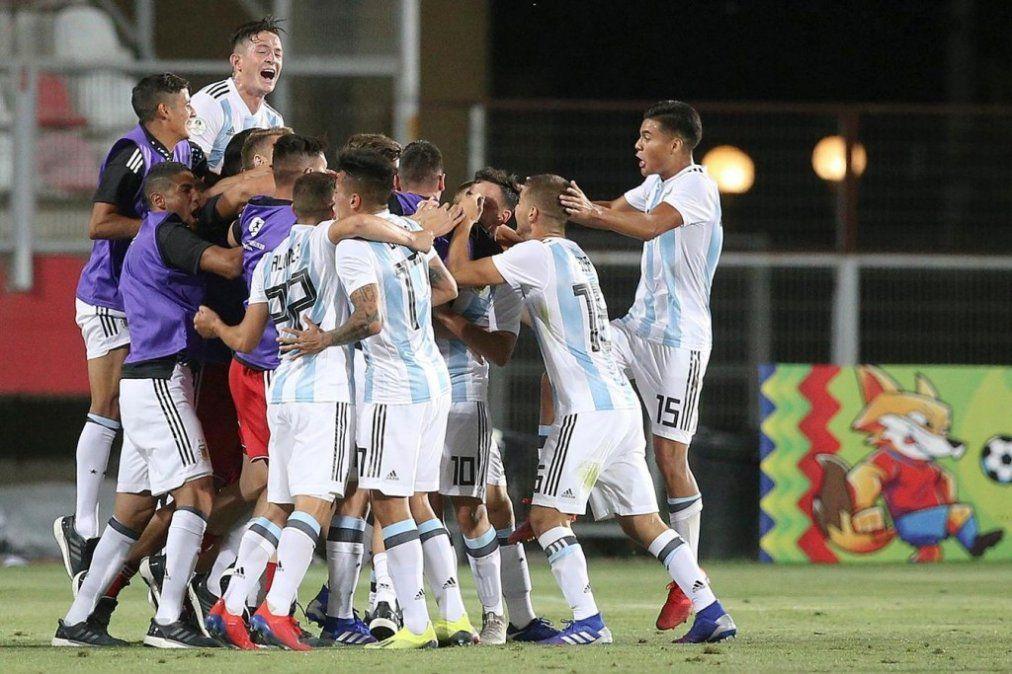 Sub20: Un golazo de Maroni le devolvió las esperanzas a Argentina