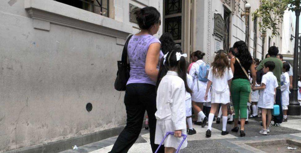 Los chicos volverán a la escuela el 6 de marzo, después del feriado de carnaval