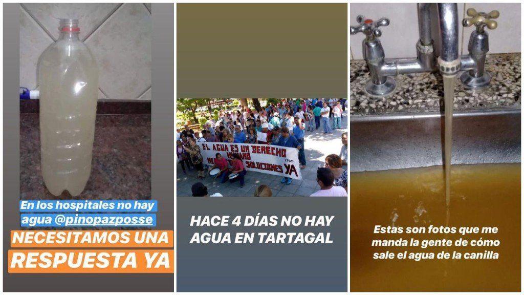 En Salta, la temperatura llega a los 40° y los vecinos de Tartagal están sin agua