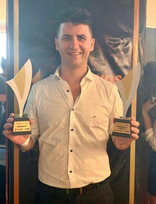 Premios Vos: Miguel Martín se llevó dos galardones