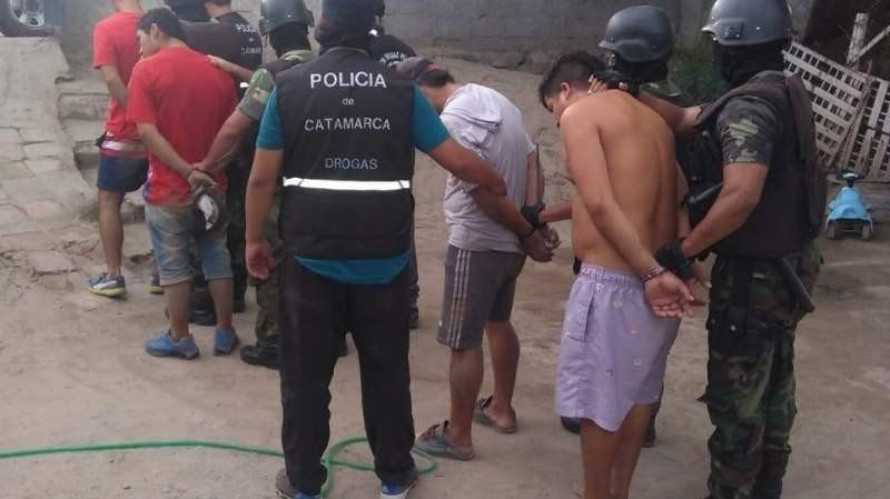 Catamarca: Desbarataron un punto de venta de droga gracias a una llamada anónima