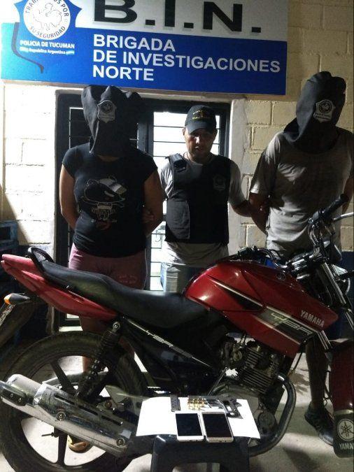 Atrapan a una pareja que asaltaba en la zona norte de la provincia