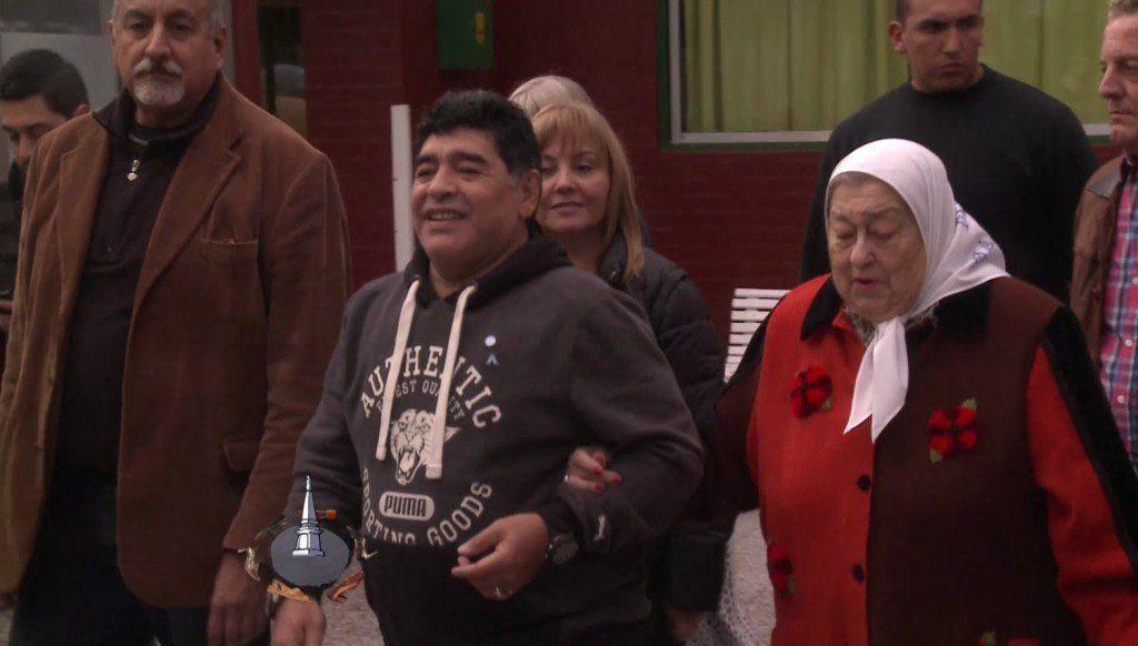 Hebe de Bonafini recibió un audio de Maradona y lo comparó con el Papa Francisco