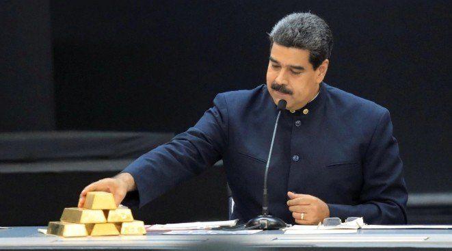Nicolás Maduro vende 15 toneladas de oro a los Emiratos Árabes