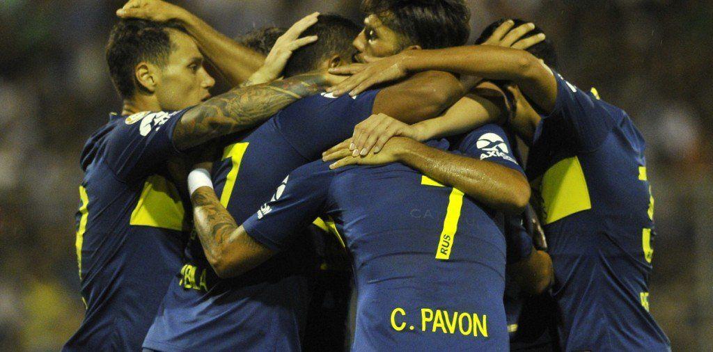 Superliga: Boca goleó en su visita a San Martín de San Juan