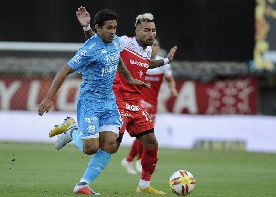 Argentinos Juniors y Belgrano empataron sin goles en La Paternal
