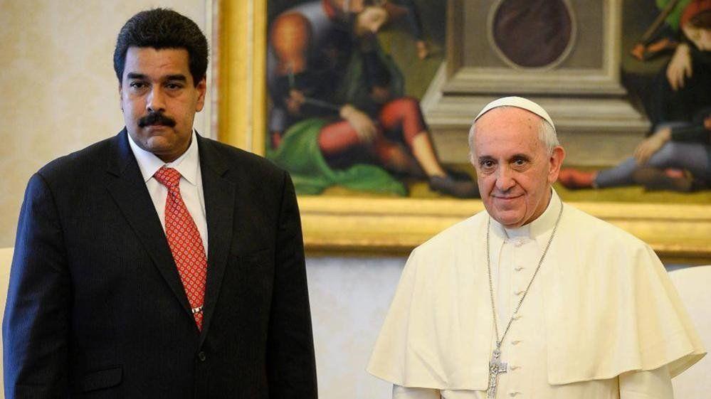 Maduro envió una carta a Francisco para que facilite el diálogo con la oposición