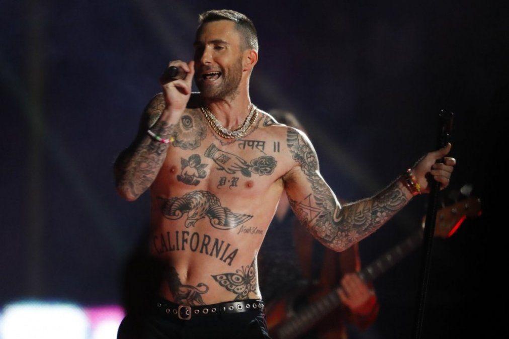 Super Bowl LIII: Polémicas para Maroon 5 y el tono machista del show de Adam Levine