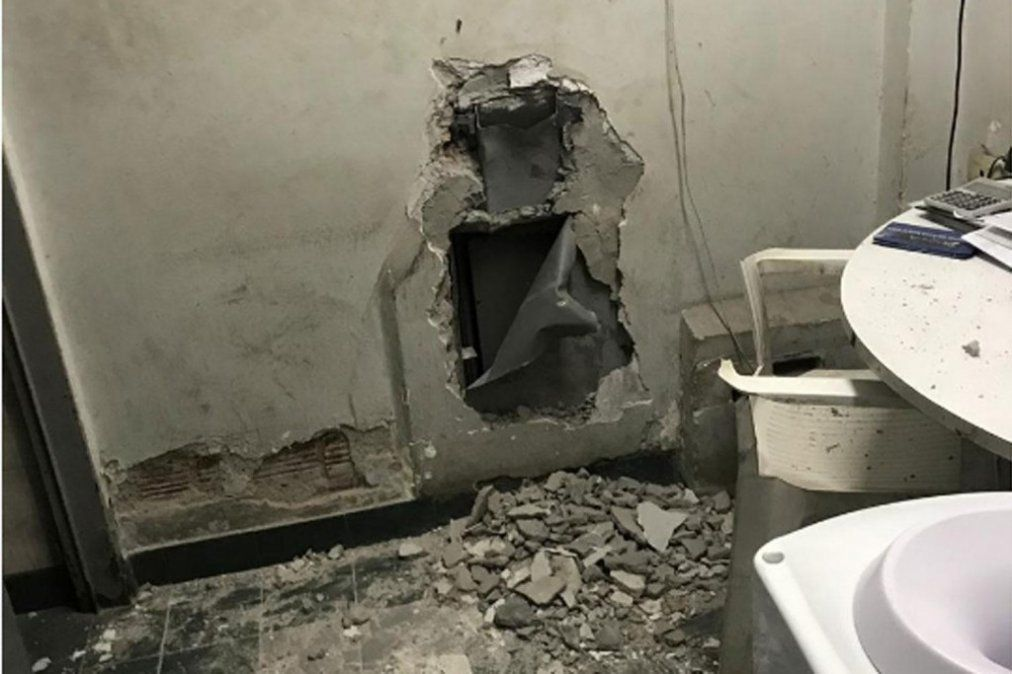 Delincuentes vaciaron la caja fuerte de una estación de servicio
