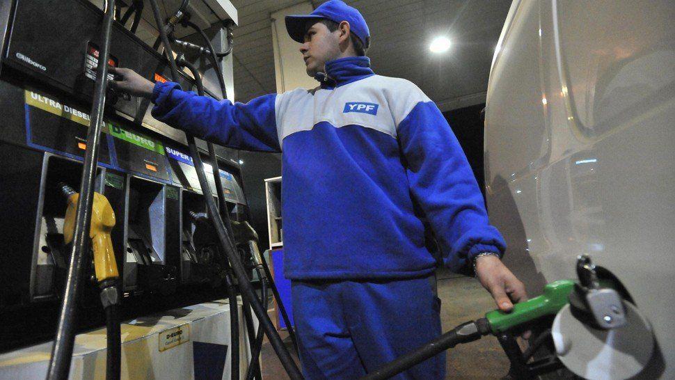 YPF aumentó sus combustibles 1,6% en promedio para todo el país