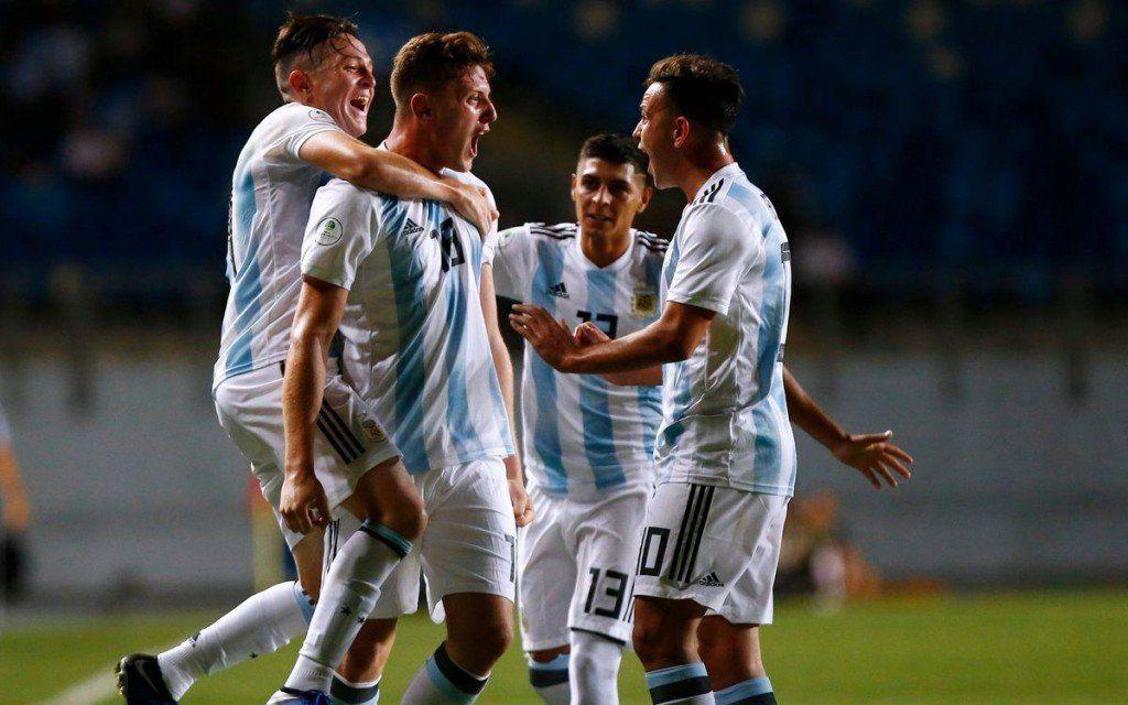 Sub20: Argentina hizo su mejor partido y goleó al candidato