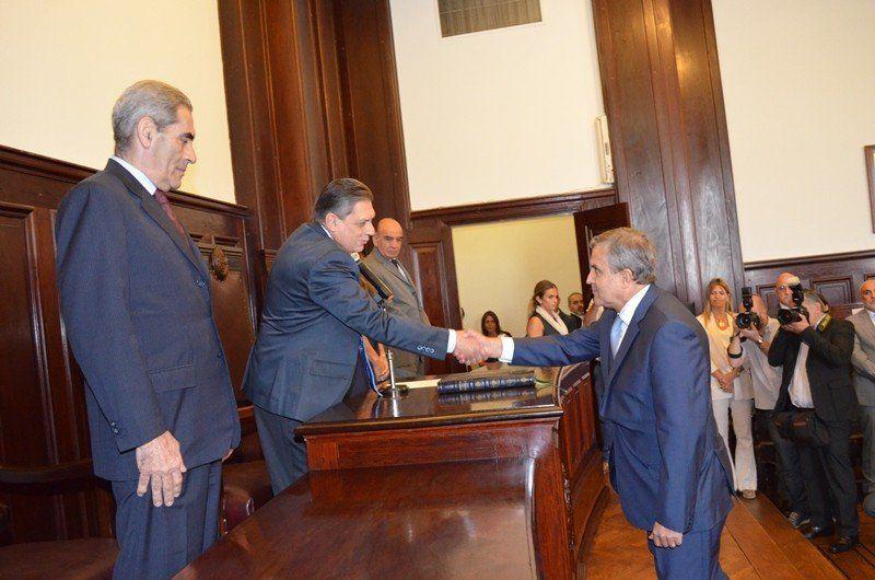 Asumió Daniel Leiva como vocal de la Corte Suprema de Justicia de Tucumán