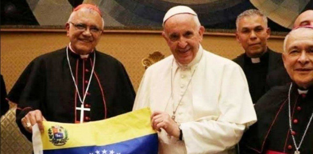 """Para la Iglesia de Venezuela, una mediación del papa Francisco """"es inviable"""""""