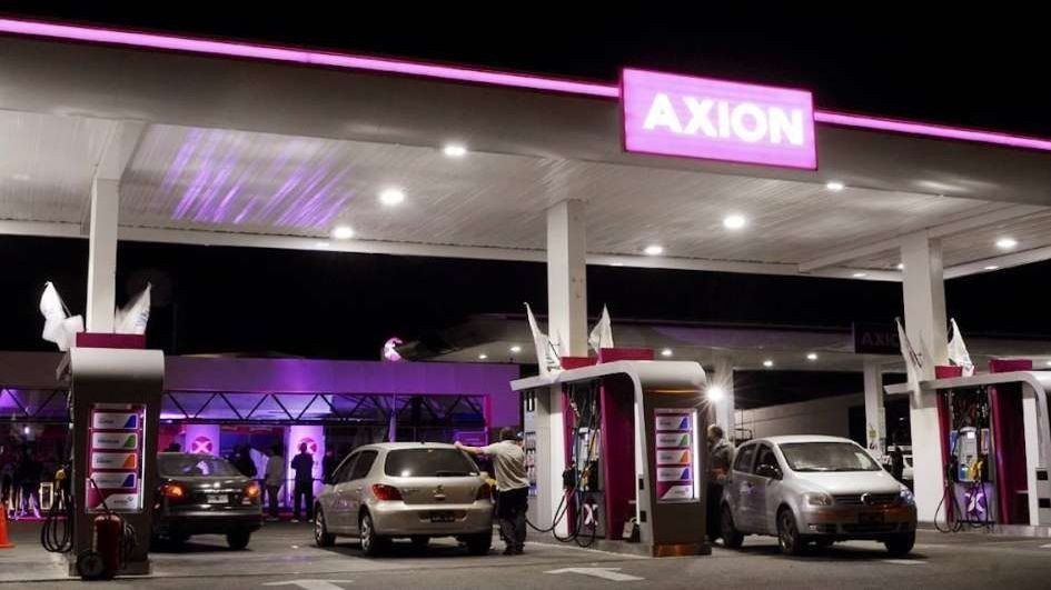 Axion subió los precios de sus naftas un 1,6% en todo el país