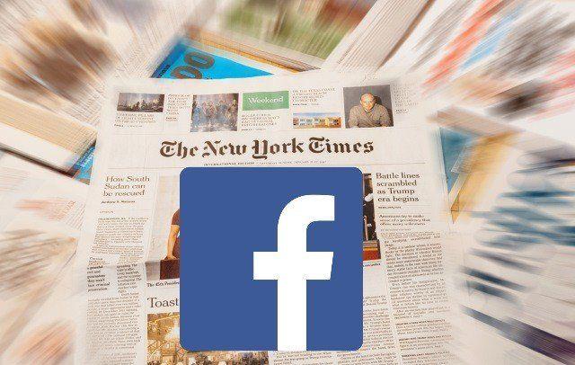 El New York Times se burló de Facebook con una parodia