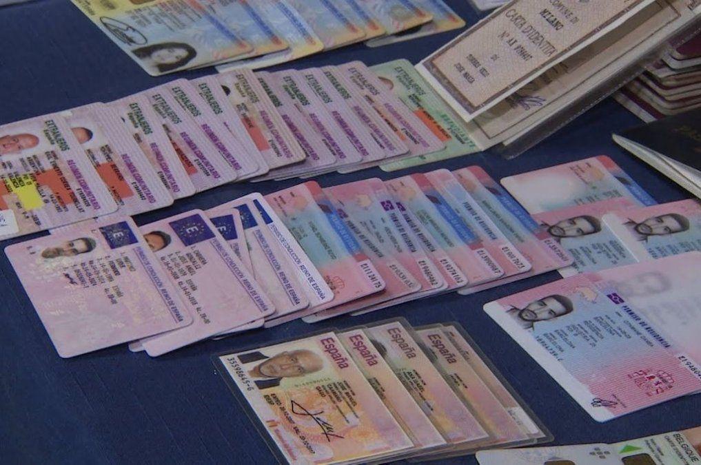 Detuvieron en la ciudad de Madrid a un falsificador argentino