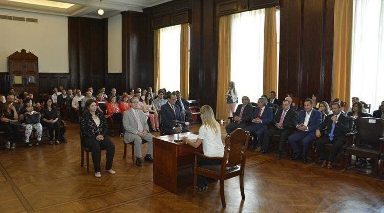 Juraron nuevos jueces para el Centro Judicial Capital y Concepción