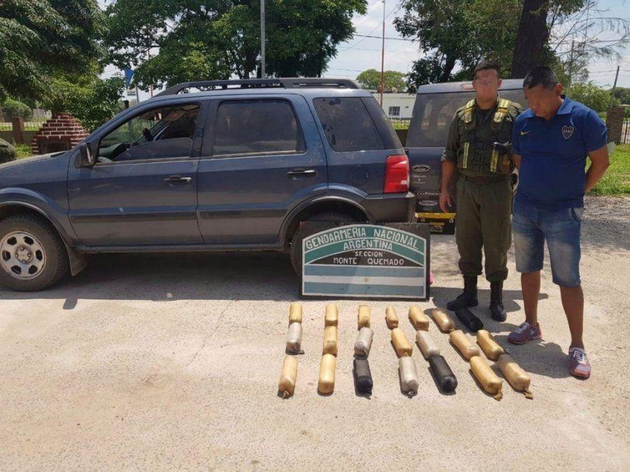 Santiago del Estero: detuvieron a un hombre con más de 25 kilos de cocaína en la ruta 16