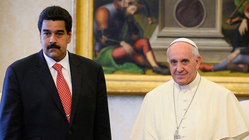 Nicolás Maduro espera una respuesta iluminada del papa Francisco